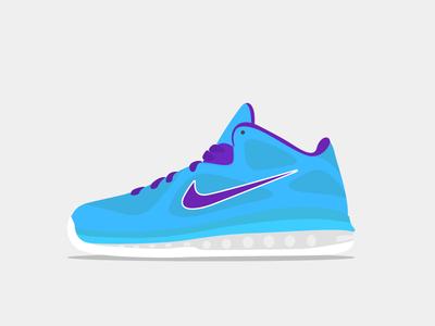 Nike Lebron 9 - WIP