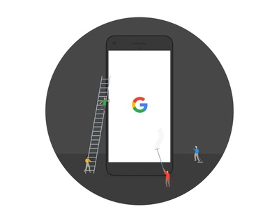 Welcome to your Pixel characters ux phone pixel google