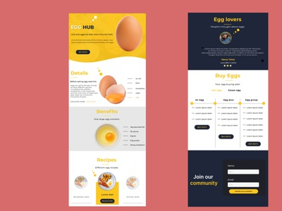 Day 003 of my 100 days of daily UI challenge(Landing page desig) uiux figma ui ux design