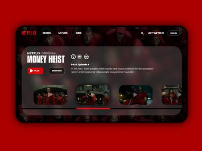 Netflix UI Concept netflix interface uidesign uxdesign ui