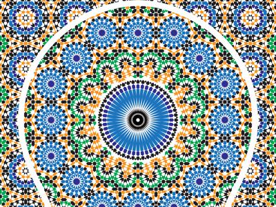 Moroccan Pattern 7