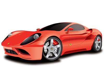 Illustration (Ferrari)