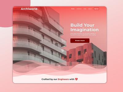 Landing page ui minimal web landing page ui landing page design website ui design landing page
