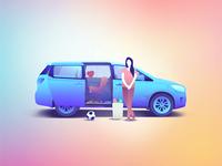 Mom's Van