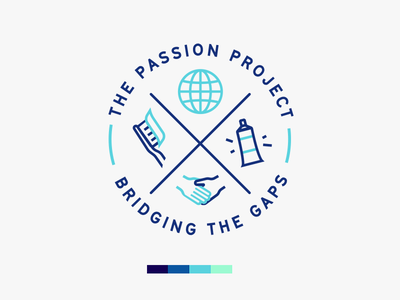 The Passion Project tooth world charity logotype dental dentist help global medical