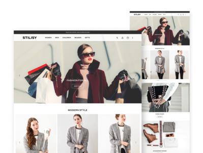 STILISY - Fashion Website Project