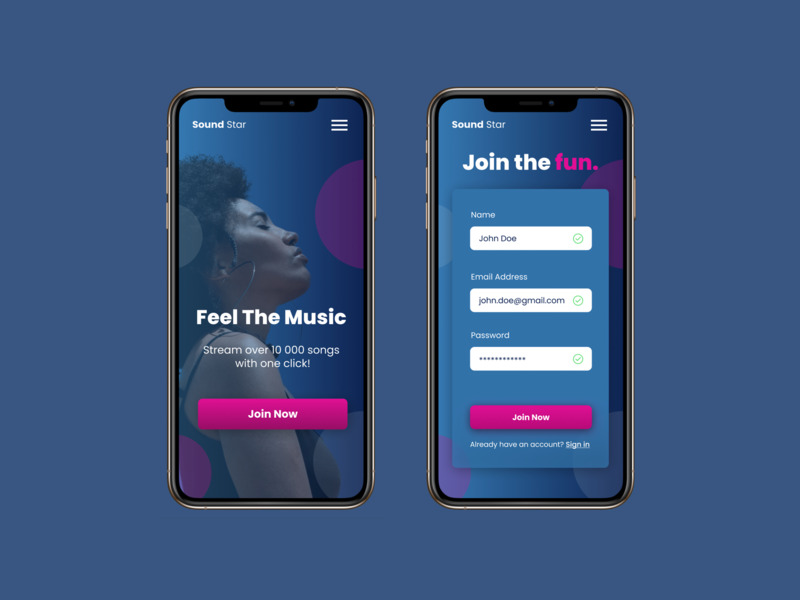 Sound Star Music App