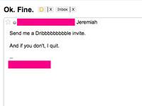 Ok. Fine.