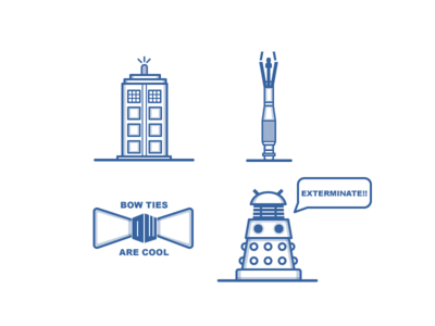 Dr. Who Icons