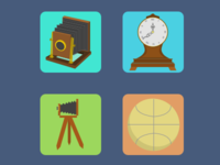 Hipster Homescreen Icons 2