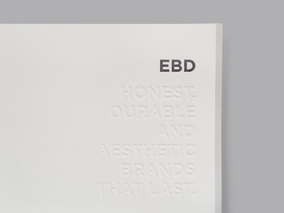 EBD Custom Folder