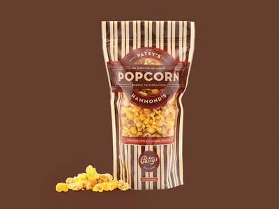 Hammond's Popcorn Packaging
