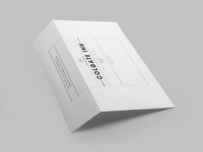 Colgate Inn Envelope