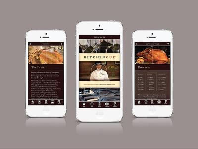 Kitchen Cue iPhone App