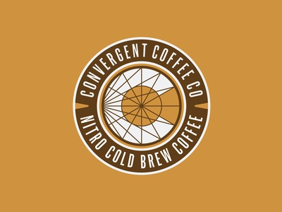Convergent Coffee Badge