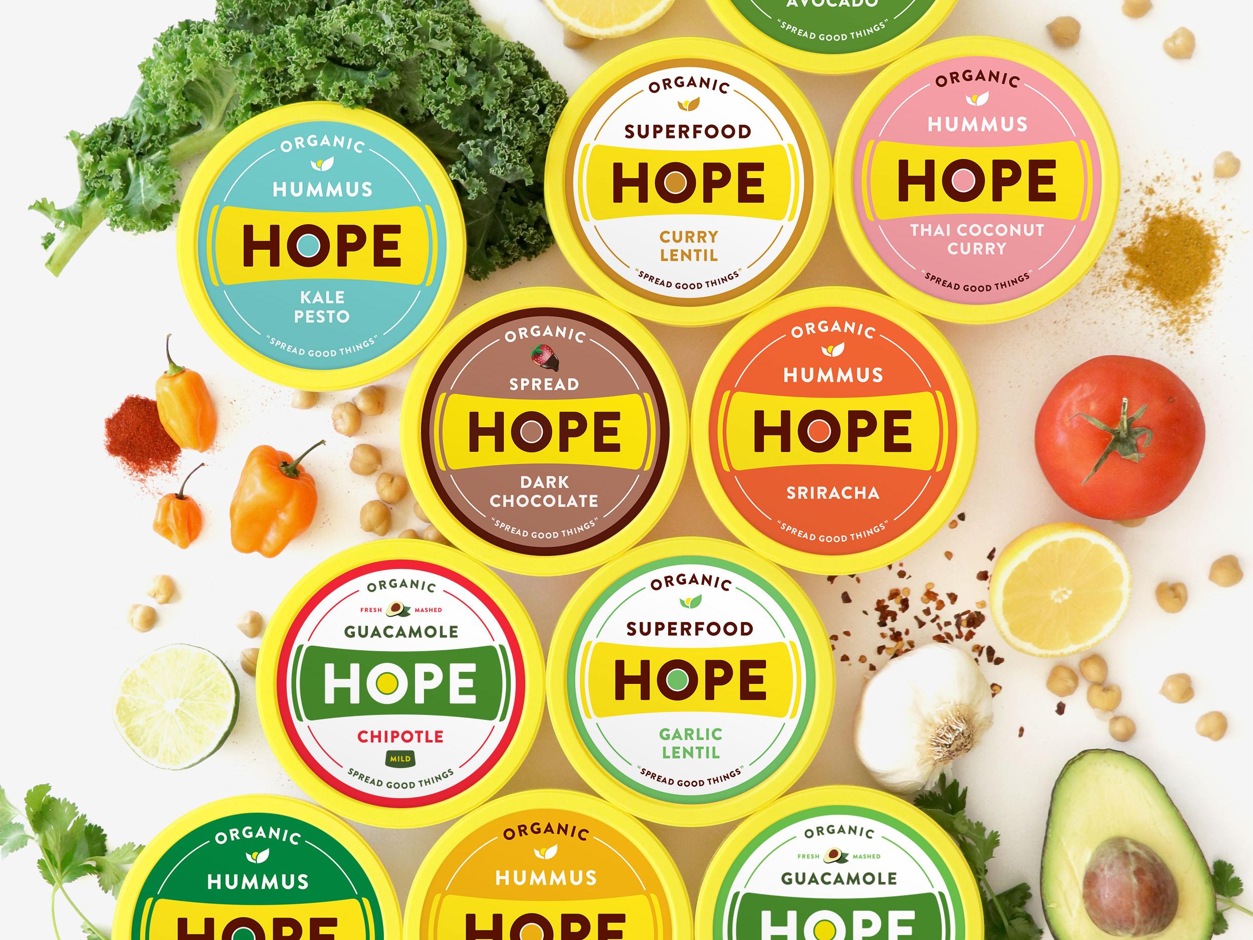 Hope lids