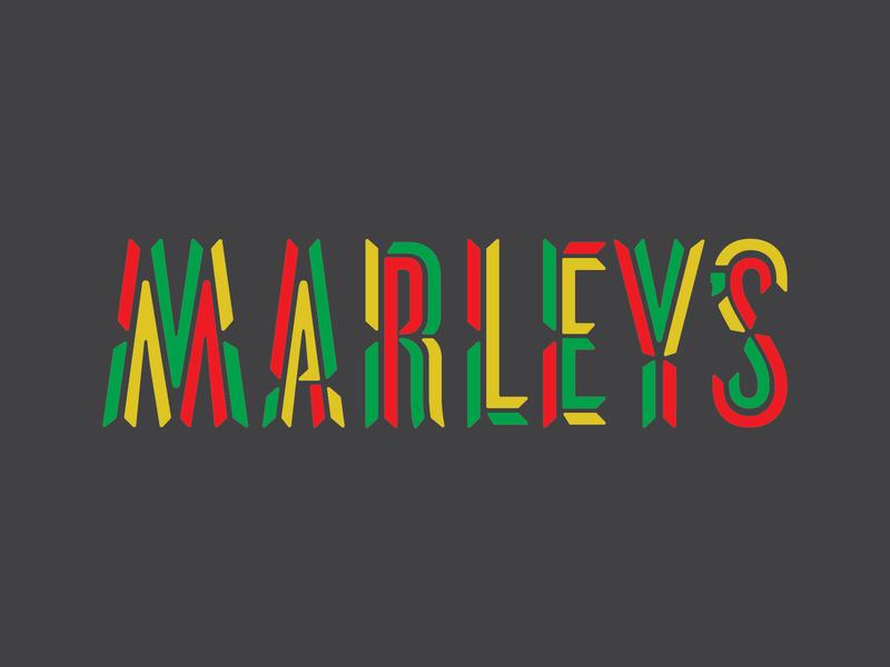 Marley's Custom Lettering identity lettering typography logo unused