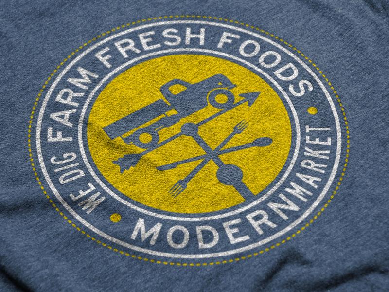 Modern Market Shirt shirt design design branding modern market shirt