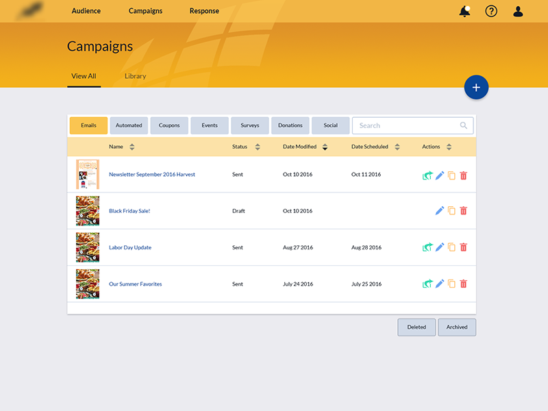 Mock2 campaigns dribbble