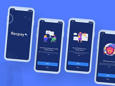 recpay pre illustration webdesign figmaafrica web ui mobile ui uiux design uidesign ui figma