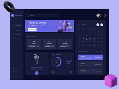 Educasio dashboard ui ui design webdesign ux figmaafrica web ui uidesign figma ui uiux