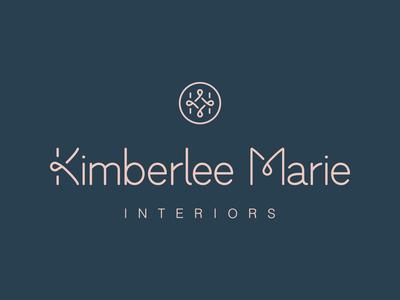 Kimberlee Marie Interiors   Brand Identity