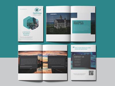 Company Profile Design adobe photoshop businesscard brochure adobe illustrator logo illustrator vector typography icon design