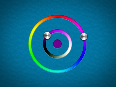 Colour picker concept dribbble