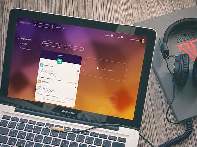 Air Dash Mock clean light ios7 dashboard dash app