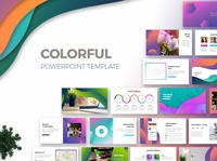Colorful Powerpoint Presentation Template template templatedesign multipurpose template pitch deck design color theme colorful design presentations presentation layout presentation design powerpoint presentation powerpoint template presentation template powerpoint presentation powerpoint design