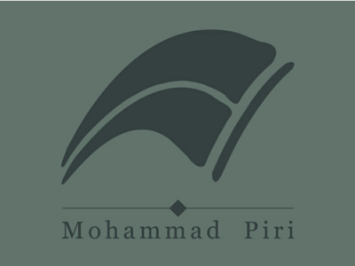 Mohammad Piri logo لوگودیزاین لوگو branding logo personal-branding
