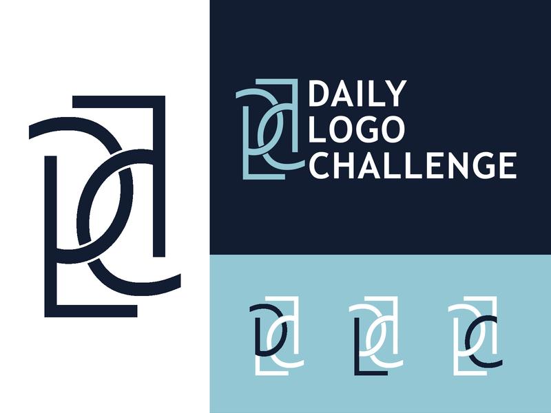 Daily Logo Challenge Logo daily logo challenge logo daily logo challenge challenge logo dlc logo iconography illustrator dailylogochallenge branding design vector logo design logo icon design branding brand