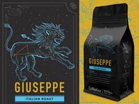 Coffeebar  |  Coffee Rebrand  |  Giuseppe