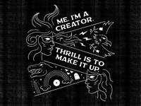 Me. I Am A Creator.