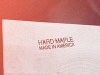 Hard maple made in america lg