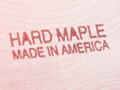 Hard Maple Made In America