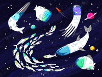 Fish in Outer Space