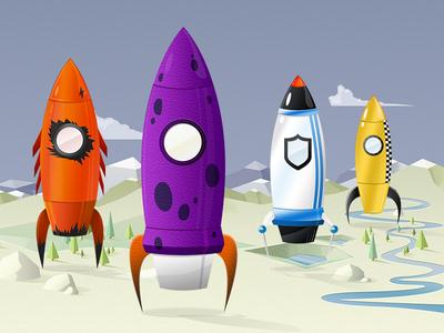 4 New Rockets