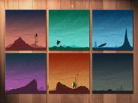 Tiny Voyage Prints