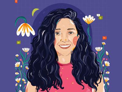 Portrait - Firsta portrait illustrator illustration digital art illustration art illustration