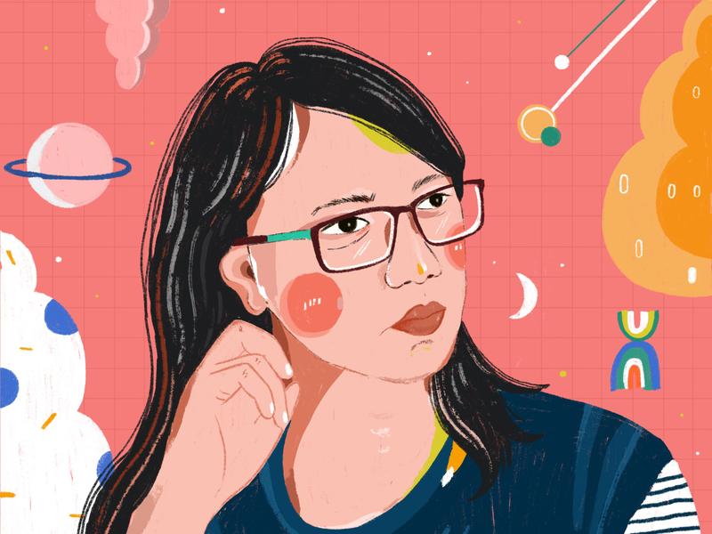 Portrait - Tantri portrait illustration portrait illustrator illustration digital illustration
