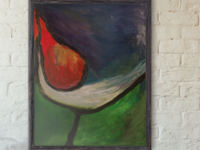 22x28 oil on canvas