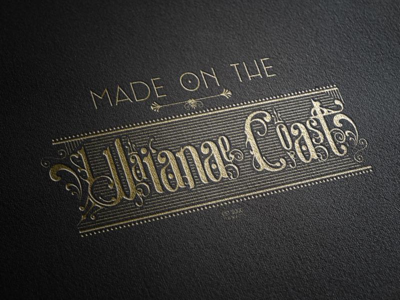 Made On The Wai'anae Coast logo branding hawaiian oahu hawaii branding logo