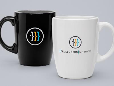 Logo design for Developers on Hand branding design logo design branding logo design