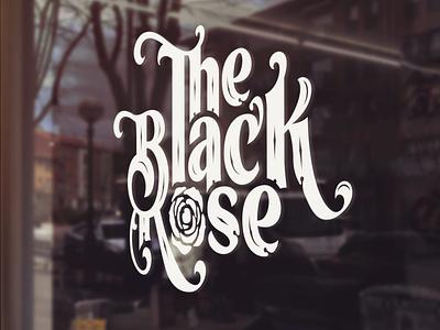 Logo design for The Black Rose branding design logo design branding logo designs logo design