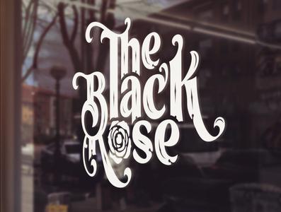 Logo design for The Black Rose