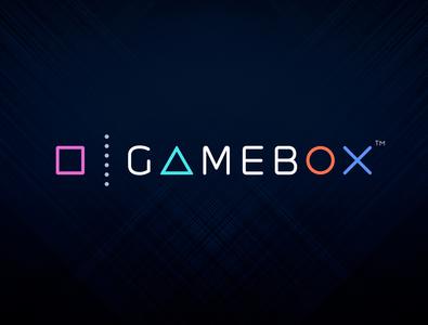 Logo design for GameBox mobile game studio