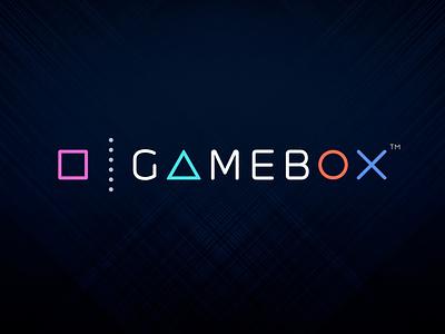 Logo design for GameBox mobile game studio gaming logo design branding logo design mobile app