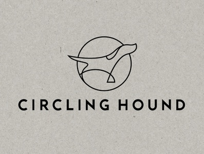Logo design for Circling Hound