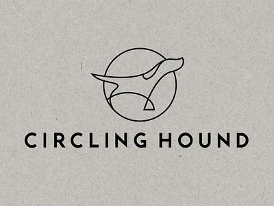 Logo design for Circling Hound gifts fashion logo branding design logo design